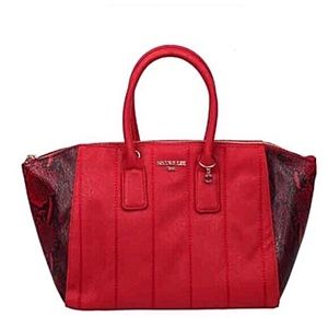 Nicole Lee Bags - ✤ Emerson Faux-Snakeskin Tote Bag